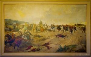 1 PALACIO BUENAVISTA. BATALLA CASTRILLEJOS. SANZ Y CABOT. S.XIX EJERCITO (2) - copia