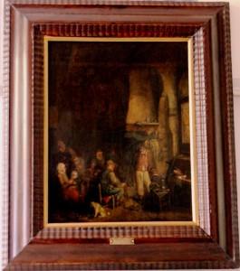 "2 TABLA HOLANDESA siglo XVII -Interior-""VAN OSIADE""  (2)"