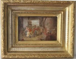 2 TABLA HOLANDESA siglo XVIII. -Kermes-(2)