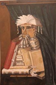 52B MURAL El Bibliotecario de Arcimboldo