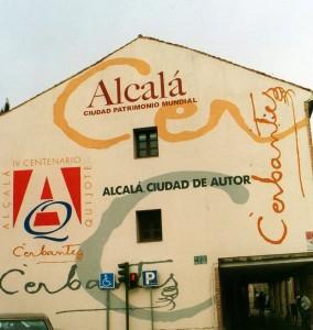 MURAL FACHADA V CENTENARIO CERVANTES ALCALÁ DE HENARES